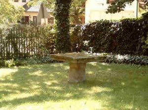 Steintisch Garten mit schöne stil für ihr haus ideen